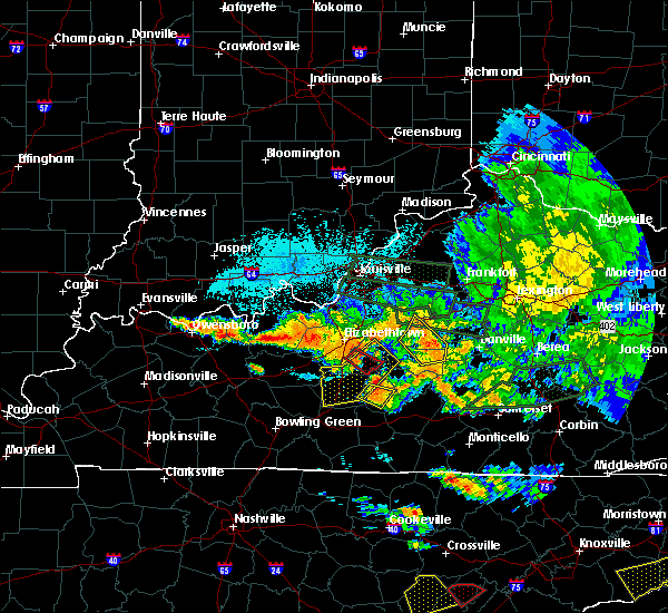 Radar Image for Severe Thunderstorms near Buffalo, KY at 7/20/2018 11:35 PM EDT