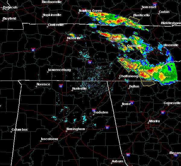 Radar Image for Severe Thunderstorms near Dayton, TN at 7/21/2018 1:24 AM EDT