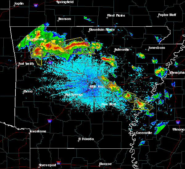 Radar Image for Severe Thunderstorms near Clarksdale, MS at 7/21/2018 1:15 AM CDT