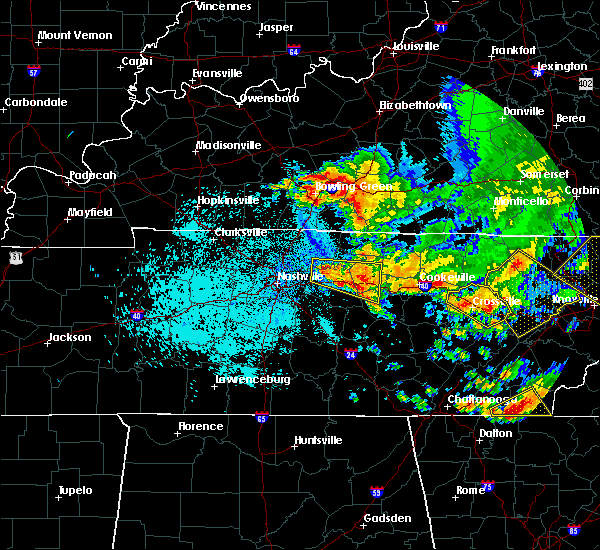 Radar Image for Severe Thunderstorms near Lebanon, TN at 7/21/2018 1:26 AM CDT
