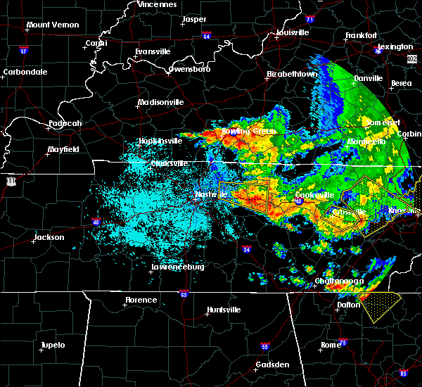 Radar Image for Severe Thunderstorms near Carthage, TN at 7/21/2018 1:45 AM CDT