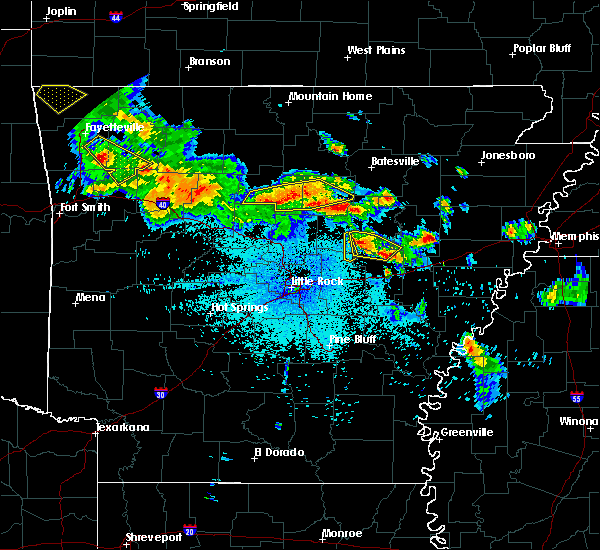 Radar Image for Severe Thunderstorms near Searcy, AR at 7/21/2018 2:06 AM CDT