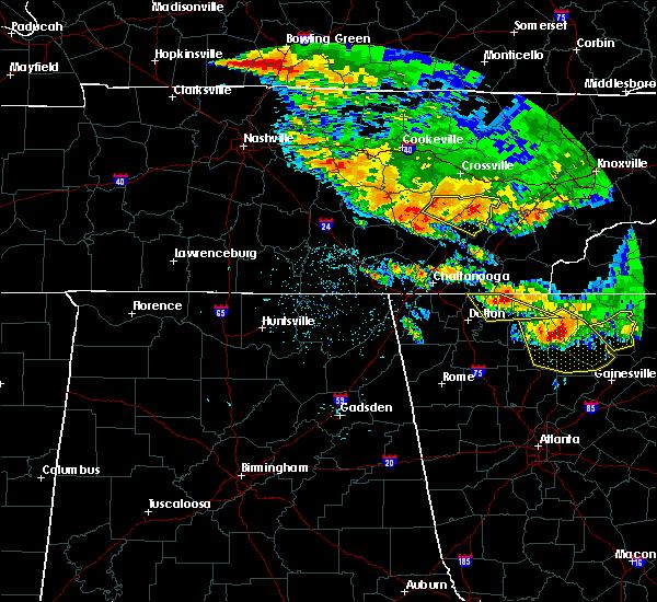 Radar Image for Severe Thunderstorms near Dayton, TN at 7/21/2018 3:25 AM EDT