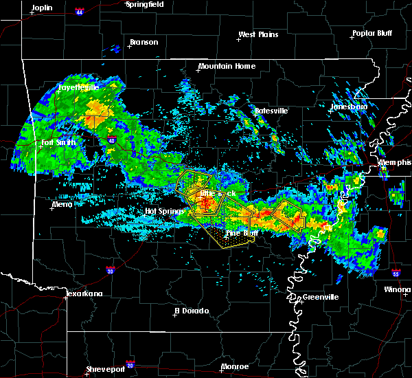 Radar Image for Severe Thunderstorms near Woodson, AR at 7/21/2018 3:44 AM CDT