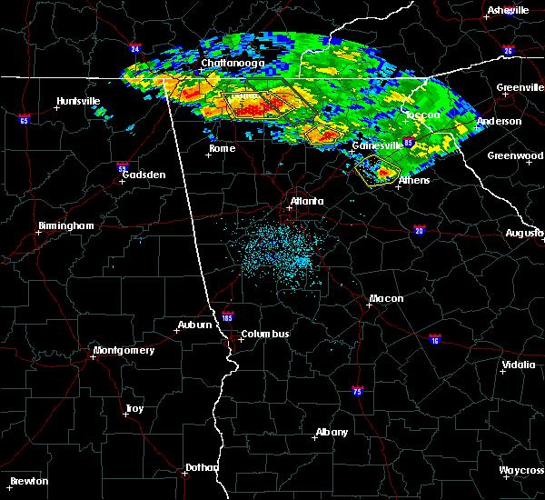 Radar Image for Severe Thunderstorms near Dawsonville, GA at 7/21/2018 5:09 AM EDT
