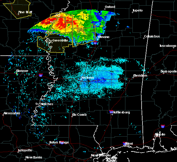 Radar Image for Severe Thunderstorms near Inverness, MS at 7/21/2018 4:30 AM CDT