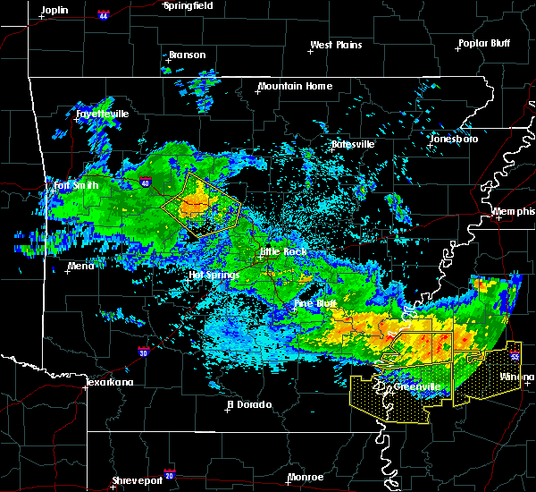 Radar Image for Severe Thunderstorms near Drew, MS at 7/21/2018 4:39 AM CDT