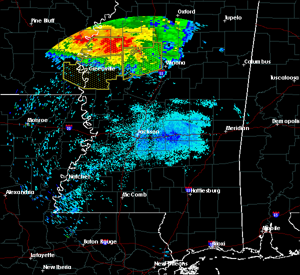 Radar Image for Severe Thunderstorms near Greenwood, MS at 7/21/2018 4:42 AM CDT