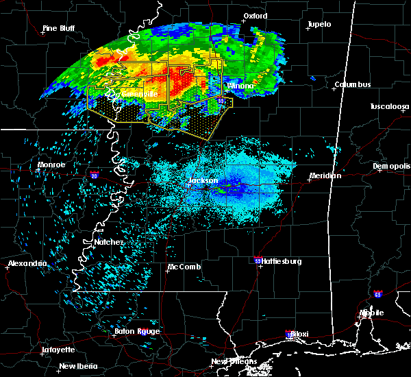 Radar Image for Severe Thunderstorms near Carrollton, MS at 7/21/2018 5:03 AM CDT
