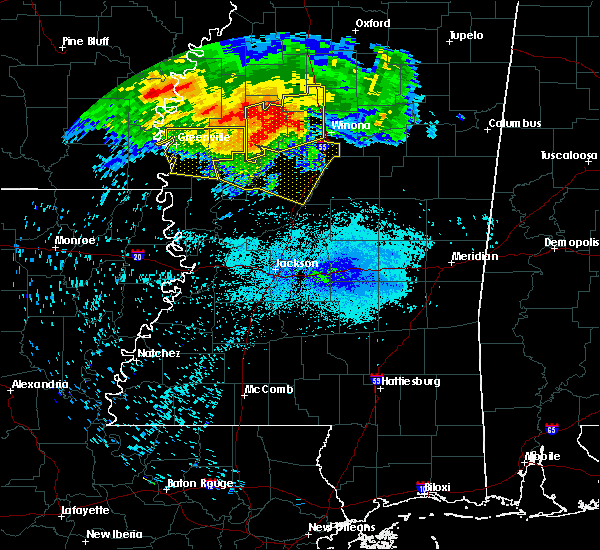 Radar Image for Severe Thunderstorms near Carrollton, MS at 7/21/2018 5:09 AM CDT