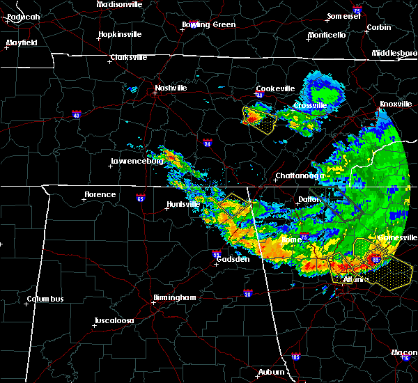 Radar Image for Severe Thunderstorms near Hollywood, AL at 7/21/2018 5:27 AM CDT