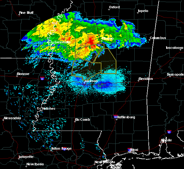 Radar Image for Severe Thunderstorms near Sallis, MS at 7/21/2018 5:34 AM CDT