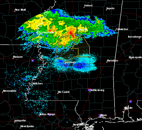 Radar Image for Severe Thunderstorms near Eden, MS at 7/21/2018 5:37 AM CDT