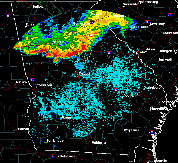 Radar Image for Severe Thunderstorms near Shady Dale, GA at 7/21/2018 7:35 AM EDT