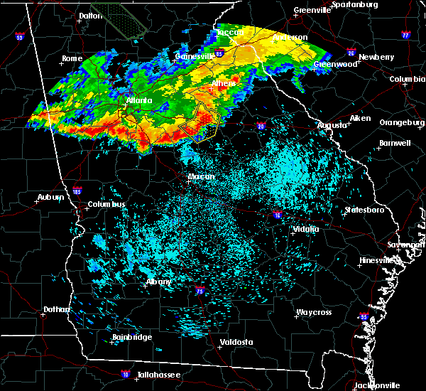 Radar Image for Severe Thunderstorms near Shady Dale, GA at 7/21/2018 7:44 AM EDT