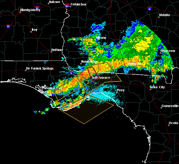 Radar Image for Severe Thunderstorms near Midway, FL at 7/21/2018 1:19 PM EDT
