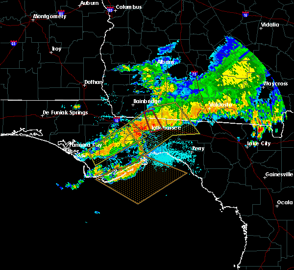 Radar Image for Severe Thunderstorms near Tallahassee, FL at 7/21/2018 1:25 PM EDT