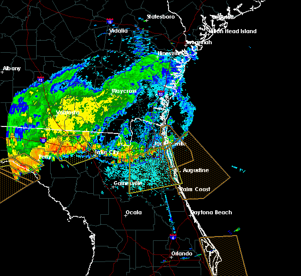 Radar Image for Severe Thunderstorms near Fleming Island, FL at 7/21/2018 2:32 PM EDT