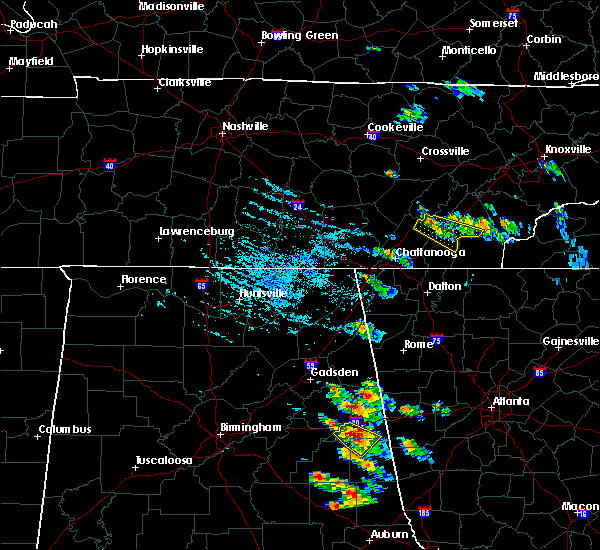 Radar Image for Severe Thunderstorms near Etowah, TN at 7/21/2018 5:25 PM EDT