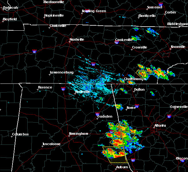 Radar Image for Severe Thunderstorms near Etowah, TN at 7/21/2018 5:52 PM EDT