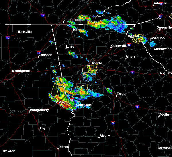Radar Image for Severe Thunderstorms near Gay, GA at 7/21/2018 7:04 PM EDT
