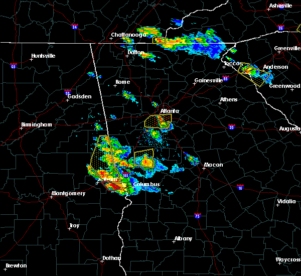 Radar Image for Severe Thunderstorms near Gay, GA at 7/21/2018 7:13 PM EDT