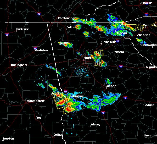 Radar Image for Severe Thunderstorms near Grayson, GA at 7/21/2018 8:09 PM EDT
