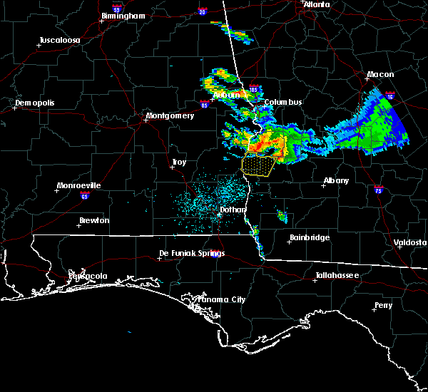 Radar Image for Severe Thunderstorms near Eufaula, AL at 7/21/2018 8:46 PM EDT