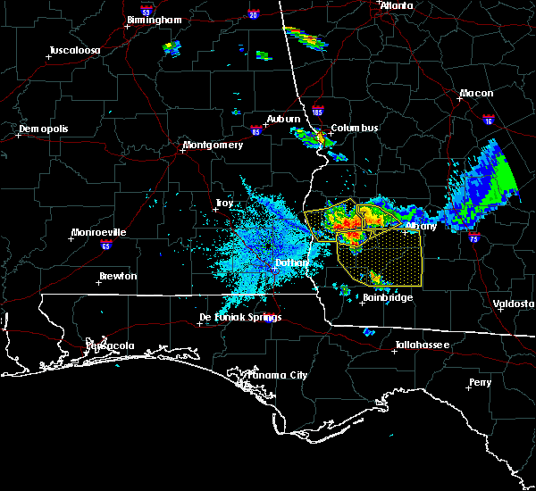 Radar Image for Severe Thunderstorms near Colquitt, GA at 7/21/2018 9:42 PM EDT