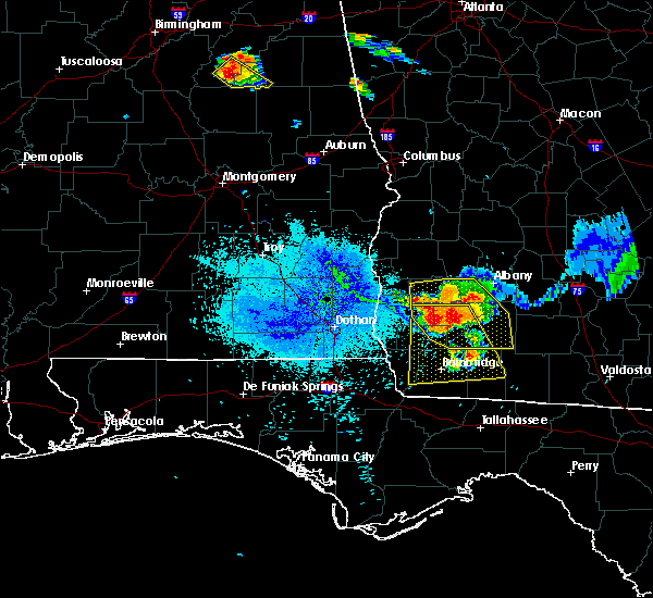 Radar Image for Severe Thunderstorms near Colquitt, GA at 7/21/2018 10:16 PM EDT