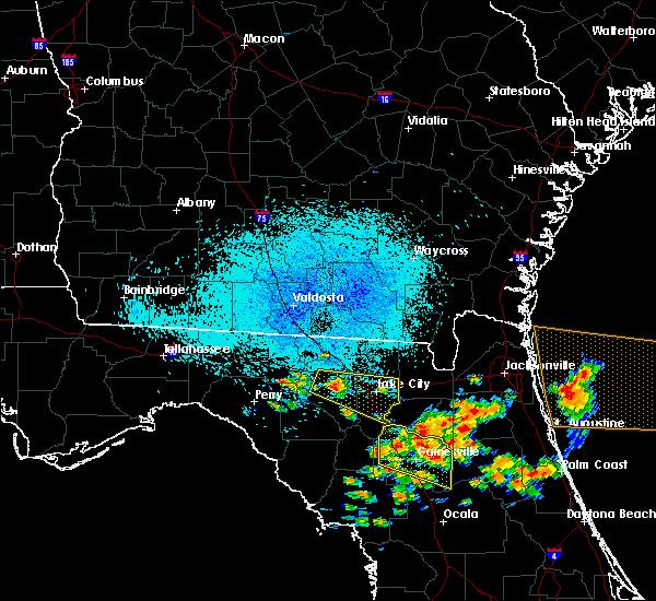 Radar Image for Severe Thunderstorms near Live Oak, FL at 7/22/2018 11:39 AM EDT
