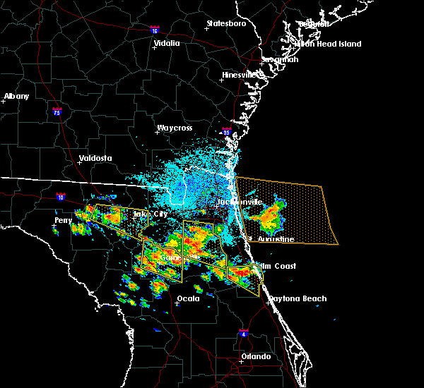 Radar Image for Severe Thunderstorms near Gainesville, FL at 7/22/2018 11:52 AM EDT