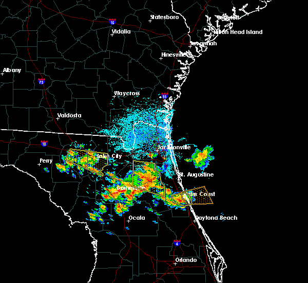 Radar Image for Severe Thunderstorms near Lake City, FL at 7/22/2018 12:06 PM EDT