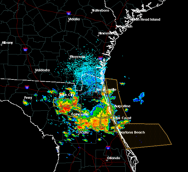 Radar Image for Severe Thunderstorms near Flagler Estates, FL at 7/22/2018 1:01 PM EDT