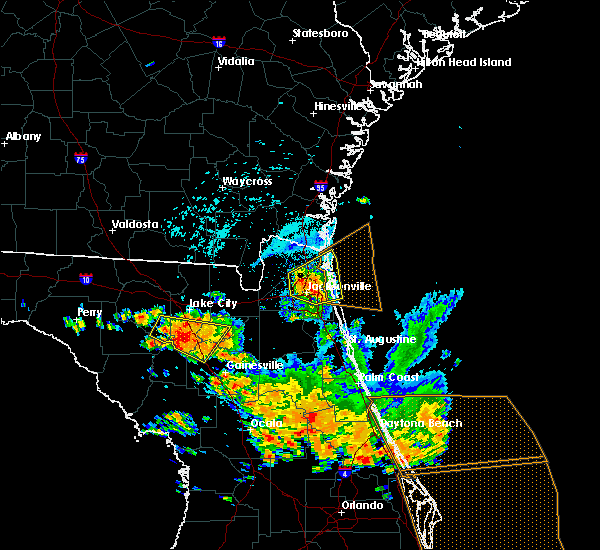 Radar Image for Severe Thunderstorms near Nassau Village-Ratliff, FL at 7/22/2018 2:20 PM EDT