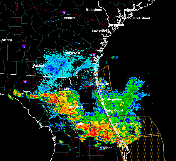 Radar Image for Severe Thunderstorms near Raiford, FL at 7/22/2018 2:51 PM EDT
