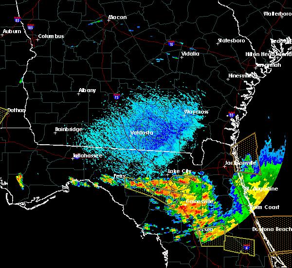 Radar Image for Severe Thunderstorms near Branford, FL at 7/22/2018 2:57 PM EDT