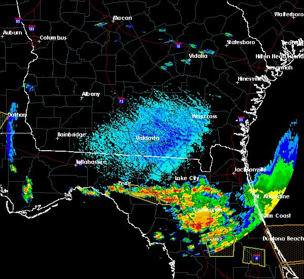 Radar Image for Severe Thunderstorms near Branford, FL at 7/22/2018 3:06 PM EDT