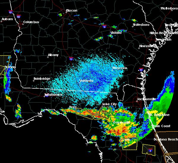 Radar Image for Severe Thunderstorms near Branford, FL at 7/22/2018 3:15 PM EDT