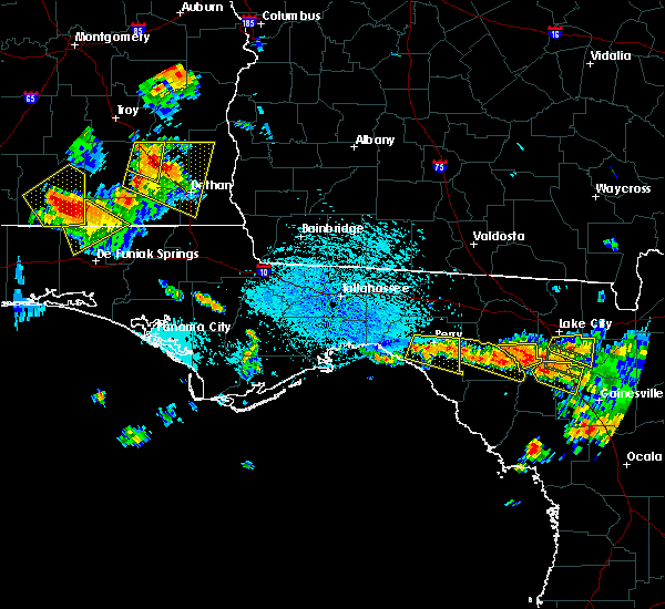 Radar Image for Severe Thunderstorms near Perry, FL at 7/22/2018 3:22 PM EDT