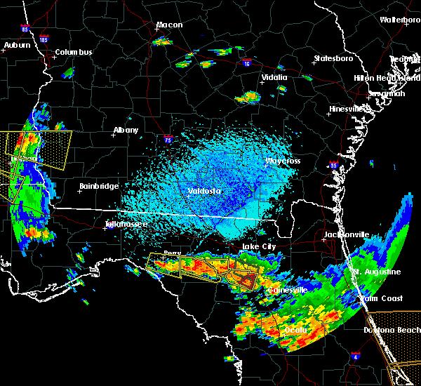 Radar Image for Severe Thunderstorms near Branford, FL at 7/22/2018 3:47 PM EDT