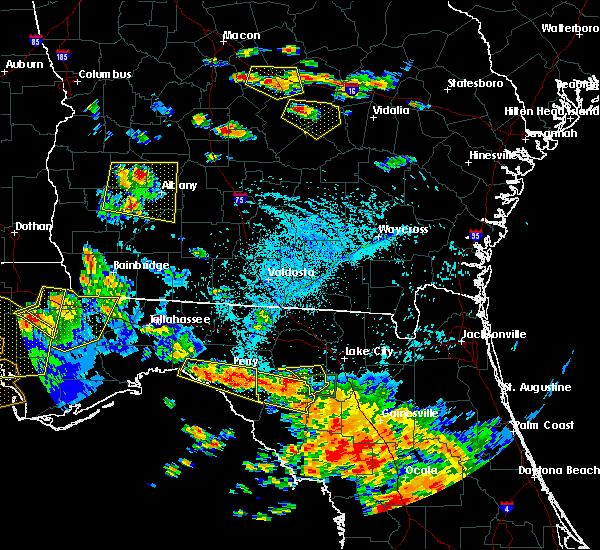 Radar Image for Severe Thunderstorms near Branford, FL at 7/22/2018 5:07 PM EDT