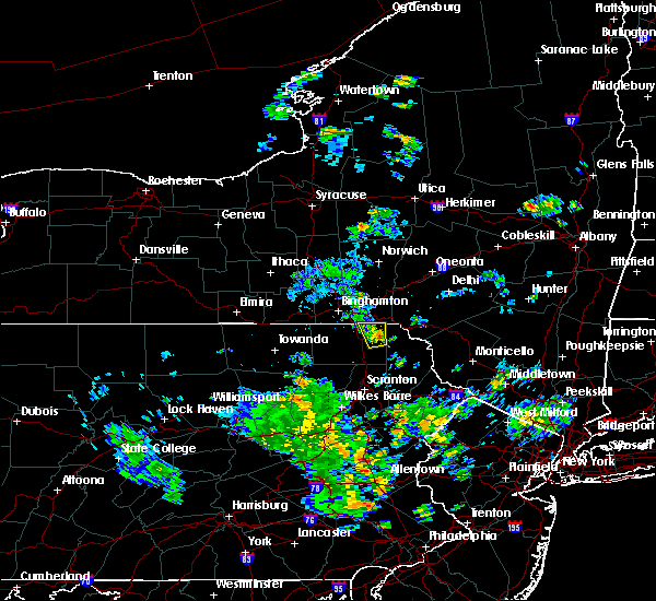 Radar Image for Severe Thunderstorms near Oakland, PA at 7/22/2018 6:45 PM EDT