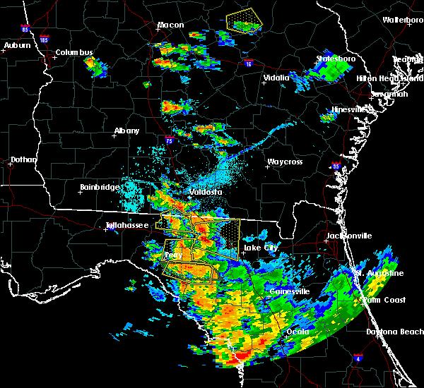 Radar Image for Severe Thunderstorms near Live Oak, FL at 7/22/2018 7:09 PM EDT