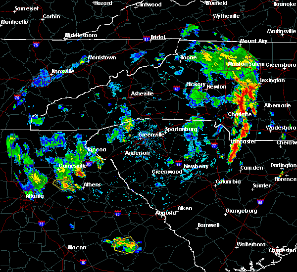 Radar Image for Severe Thunderstorms near Harrisburg, NC at 7/22/2018 7:15 PM EDT