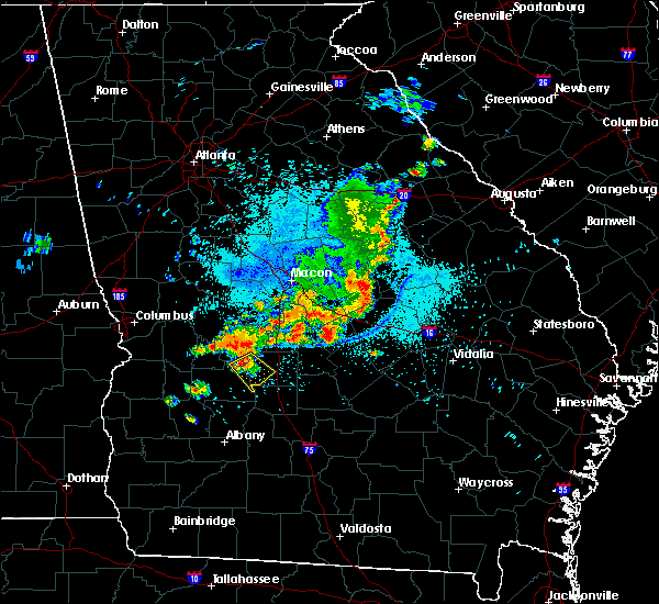 Radar Image for Severe Thunderstorms near Vienna, GA at 7/23/2018 12:20 AM EDT