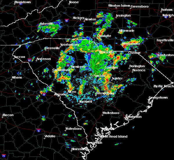 Radar Image for Severe Thunderstorms near Cane Savannah, SC at 7/23/2018 3:45 PM EDT