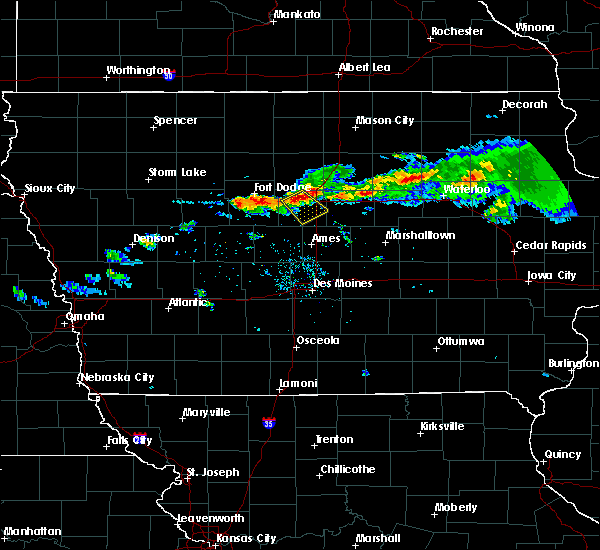 Radar Image for Severe Thunderstorms near Jewell Junction, IA at 7/25/2018 8:41 PM CDT