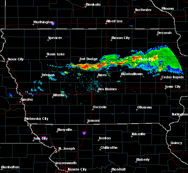 Radar Image for Severe Thunderstorms near Jewell Junction, IA at 7/25/2018 8:53 PM CDT