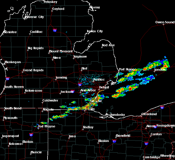 Radar Image for Severe Thunderstorms near Toledo, OH at 7/26/2018 3:04 PM EDT